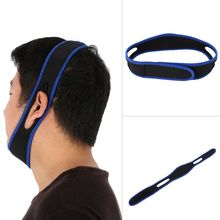 Top Quality Anti Snore Chin Strap Stop Snoring Chin Strap Snore Belt Anti Apnea Jaw Solution Sleep Support new