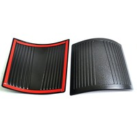 2PCS Durable Black Cowl Body Armor For Jeep Wrangler Rubicon Sahara Jk Unlimited 2007 2015