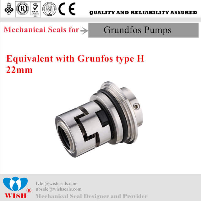 US $49 5 |22mm Mechanial seal for Grundfos pump CR series cartridge seal  type H-in Seals from Automobiles & Motorcycles on Aliexpress com | Alibaba