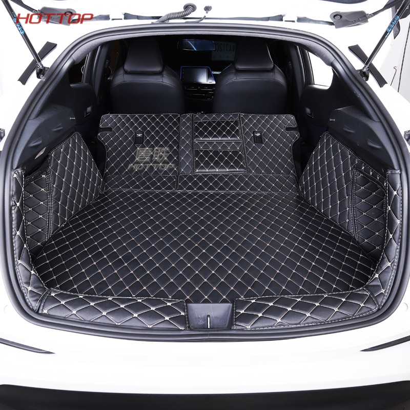 1x Leather Car Mat Trunk Cargo Liner Cargo Mat Tray For Nissan Maxima 2016-2019