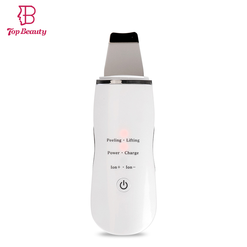 Ultrasonic Face Scrub Electric Skin Scrubber Face Lift SPA Skønhed Facial Massage Device Facial Pore Rensebørste Vandtæt