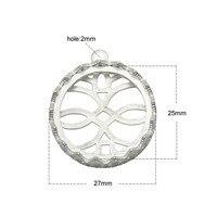 10pcs Lot 25 13X18 18X25mm 925 Sterling Silver Necklace Pendant Setting Cabochon Base Tray Bezel Blank