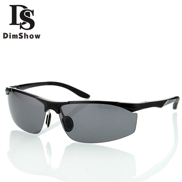 77fec6cb2c0 Aluminum Magnesium mens drivers night vision vintage Polarized sunglasses  men sport mirror sun glasses 2017 Yellow lens goggles