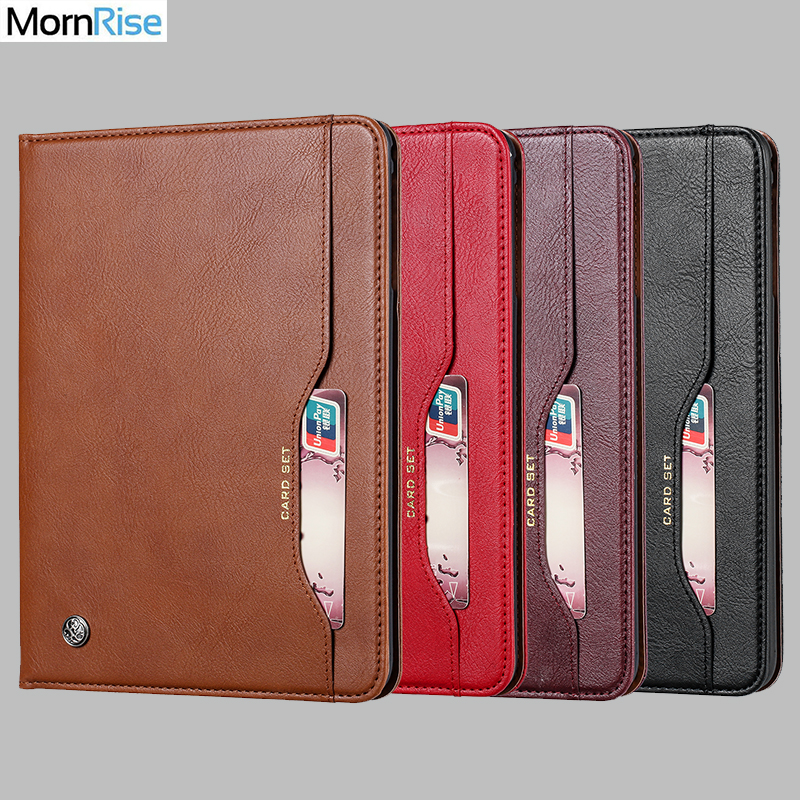 Luxury Vintage Suede Leather Cover For Samsung Galaxy Tab S5E 10.5 T720 Case Wallet Card Stand Magnetic Book Classic Flip Case