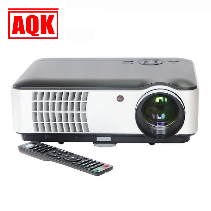 2016 New Smart LED Projector 3500lumens Android WIFI 1280X800 HDMI USB 2.0 VGA TV HD 1080P 3D Projetor Proyector Beamer