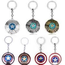 Avengers 3 Superman Super Hero Captain America Keychain Keyrings Key Holder Purse Bag Buckle Accessories Gift Key Chains(China)