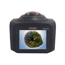 360 видео Камера WI-FI панорама спортивные Камера Поддержка Пульт дистанционного Управления TF карты памяти с TFT ЖК-дисплей Экран HD видеорегистратор
