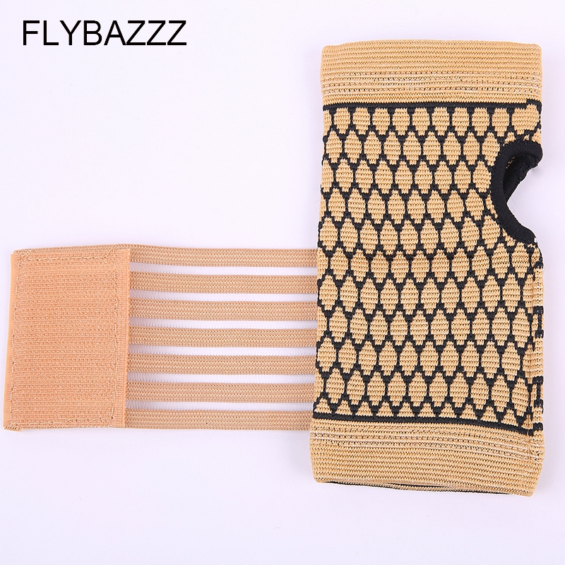 FLYBAZZZ 1PCS High Elastic Bandage Fitness Yoga Hand Palm Brace Wrist Support Crossfit Powerlifting Gym Wraps Palm Pad Protector (6)