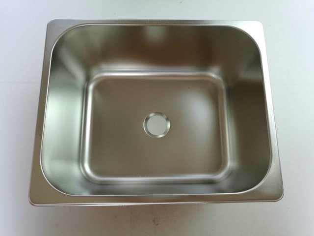 RV Caravan Camper Boat SS Rectangular Hand Wash Basin Kitchen Sink ...