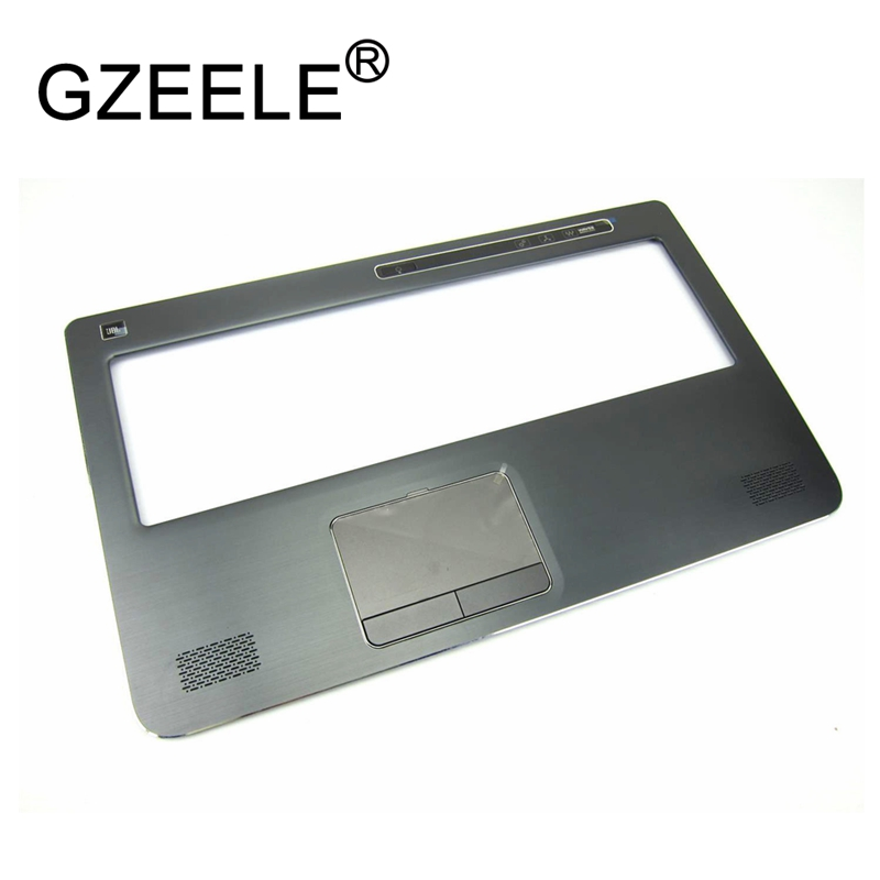 GZEELE new FOR Dell XPS 17 L702X L701X 17-L702X Laptop Palmrest Cover Upper Case Keyboard Bezel Touchpad 0R21D6 R21D6 gzeele uk layout english keyboard for dell inspiron 17r n7110 17r 7110 xps 17 l702x vostro 3750 v3750 laptop keyboard black new