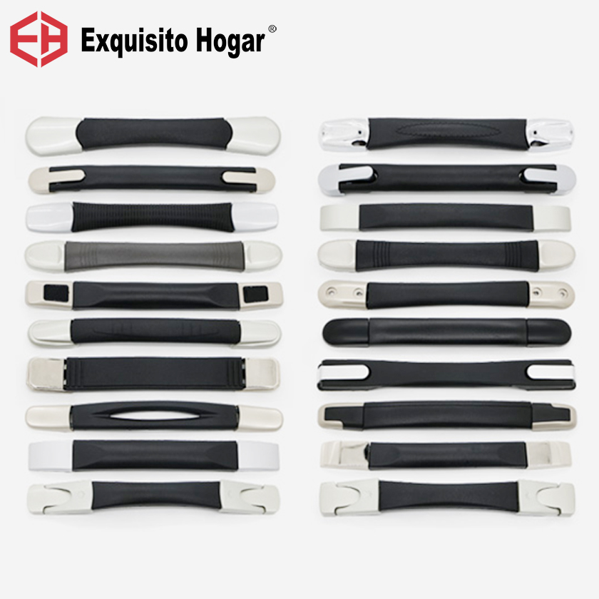 Suitcase Handle Pull Rod Box Fitting Pull Rod Handle Suitcase Fix Holders Box Pull Carry Strap Luggage Handle Repair Part