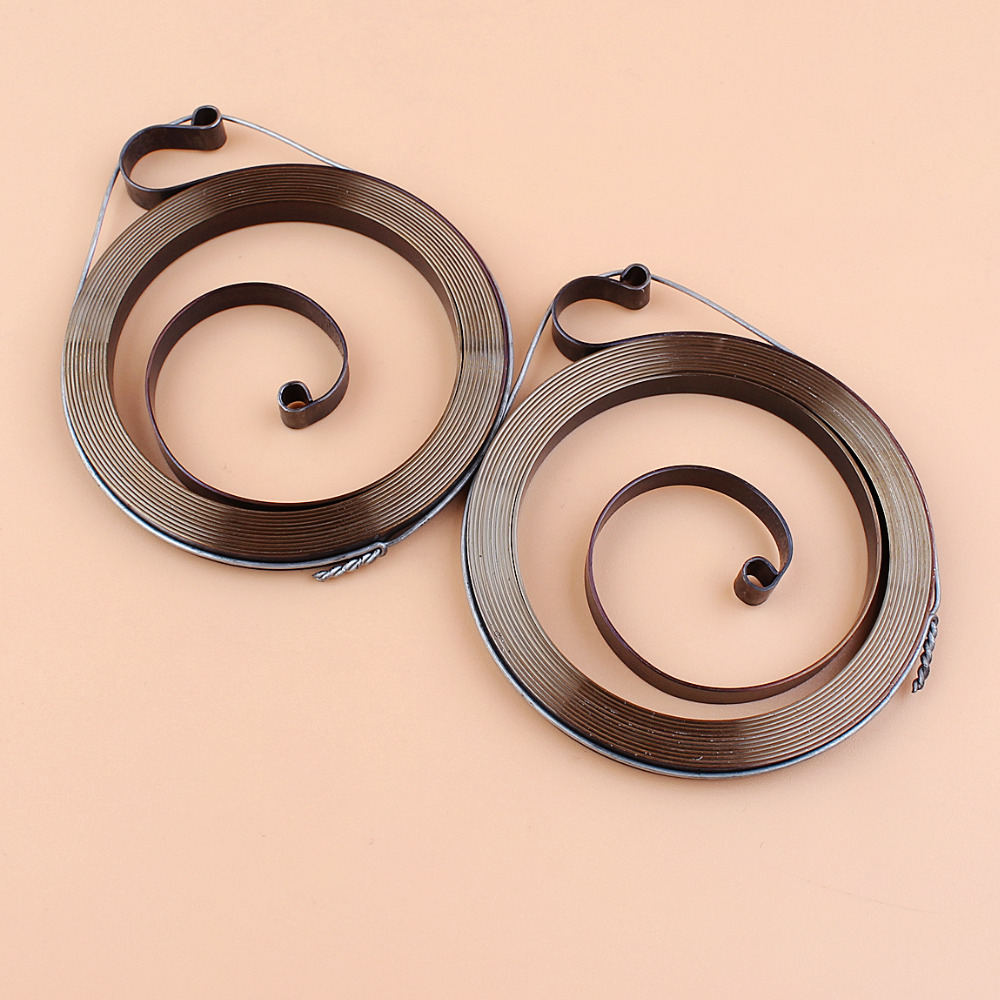 2Pcs/lot Starter Recoil Spring For STIHL MS180 MS170 MS250 MS230 MS210 MS 180 170 250 230 210 017 018 025 023 021 Chainsaw