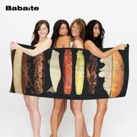 Babaiteอาหารอย่างรวดเร็วมันฝรั่งทอดI amแฮมเบอร์