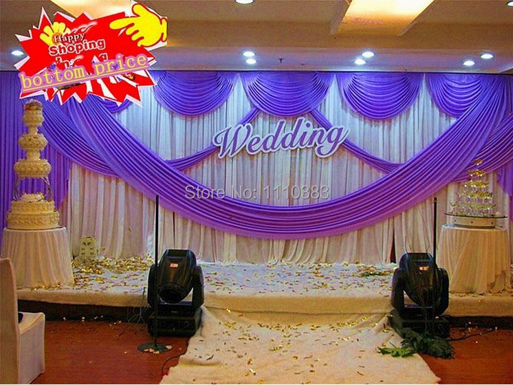 purple swag curtains promotion shop for promotional purple swag