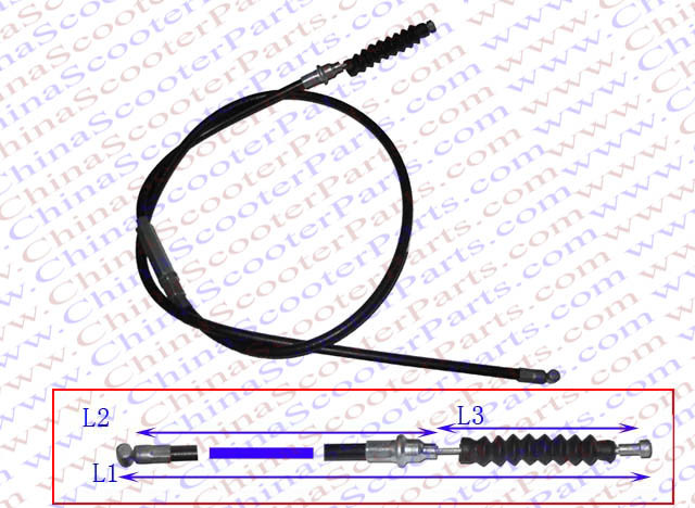 Atv,rv,boat & Other Vehicle Atv Parts & Accessories Rational 102cm 40.2 Middle Adjustable Clutch Cable Xr Crf 50 80 90cc 110cc 125cc 140cc Dirt Pit Bike Atv Quad Parts