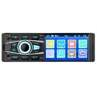4.1 Inch Single DIN Bluetooth Car Stereo Mp5 Player Hands Free Calling USB AUX Input Radio Touch Screen Mp5 Automotivo