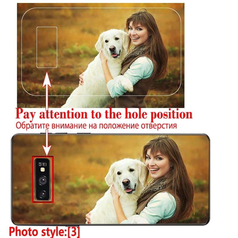 JURCHEN Custom Case For Samsung Galaxy S6 S7 Edge S8 S9 S10 E Note 8 9 A6 A7 A9 A8 J4 J6 J8 Plus 2018 M10 Cover Customized Photo