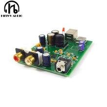 HiFi аудио USB декодер ES9028Q2M SA9023 USB DAC декодер плата внешняя поддержка 24Bit 92k
