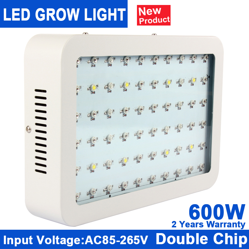 1Pcs KINDOMLED Double Chips 600W LED Grow Light  Full Spectrum LED Plant Grow Light For Indoor Plants Flowering And Growing 1pcs kindomled 600w 1000w 1200w 1500w double chip led grow light full spectrum red blue white uv ir for indoor plant and flower