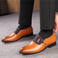 Leather Formal Shoes - Zapatos De Hombre De Vestir 1