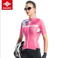 Summer Short Sleeve Cycling Jersey Pink Pro Fit Road MTB Bike Jersey Women Cycling Clothing Downhill Tops Maillot Ciclismo
