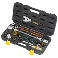 Icetoolz велосипедный Многофункциональный складывающийся набор инструментов BB нарезающий и налобный трубчатый набор инструментов E185