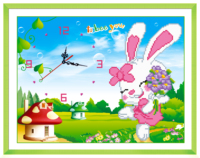 Diy 5d Diamond Painting Animal Rabbit Mosaic Pattern Picture Diamond Embroidery Kits Of Rhinestones Crystals