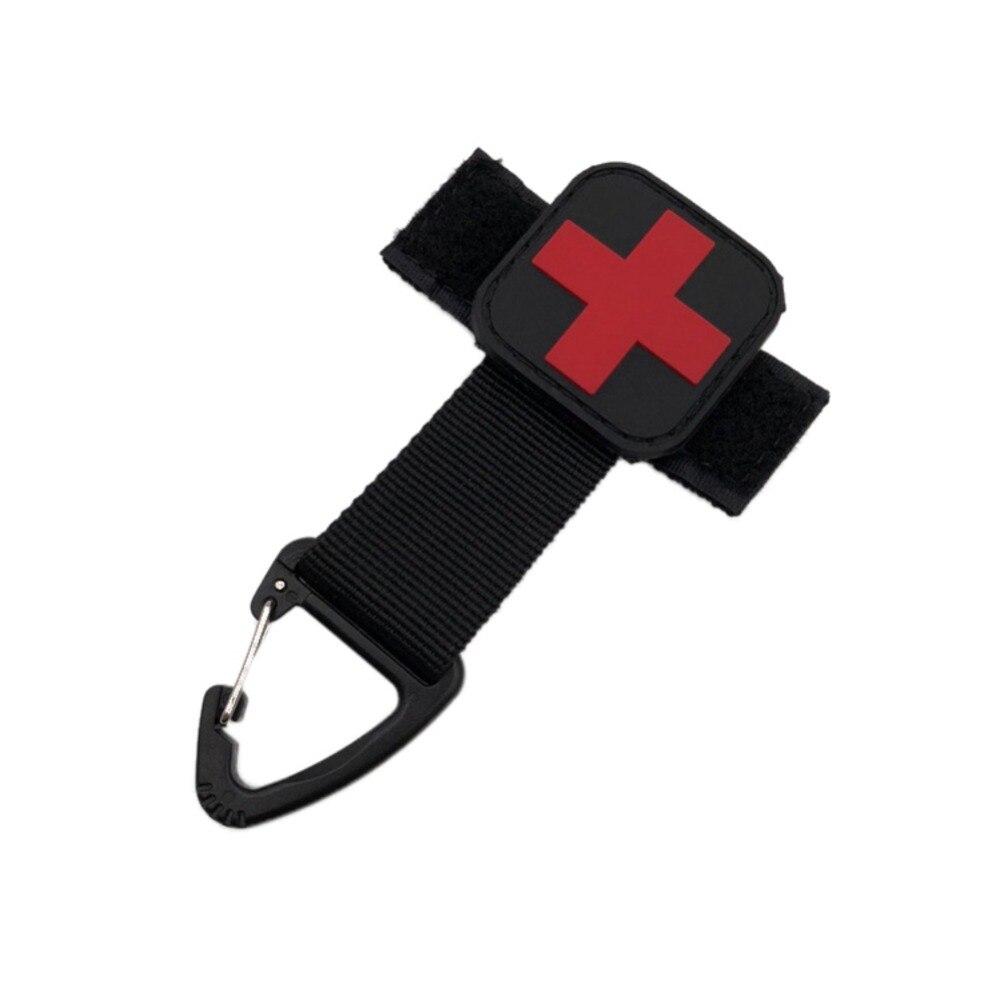 Pro Многофункциональный нейлон брелок держатель с карабином крючки для рюкзака брелок для ключей висит пряжки ремня цепи Кемпинг Пеший Тури