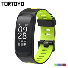 TORTOYO F4 Good Bracelet Watch Altitude Temperature iP68 Waterproof Blood Stress Coronary heart Charge Sports activities Health Tracker Smartband