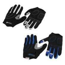 1 Pair Cycling Gloves Sponge Pad Long Finger Motorcycle Gloves For Bicycle Mountain Bike Glove MTB Road Bike Gloves