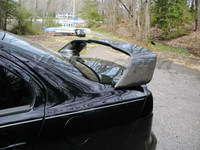 자동차 액세서리 탄소 섬유 oem 스타일 리어 스포일러 맞는 2008-2012 에볼루션 evo x 10 트렁크 스포일러 윙 자동차 스타일링