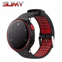 2018 Hot IP68 À Prova D' Água Relógio Inteligente SW02 Esporte Smartwatch Relógio Inteligente Com Heart Rate Monitor de Pressão Arterial Nadar Pulseira