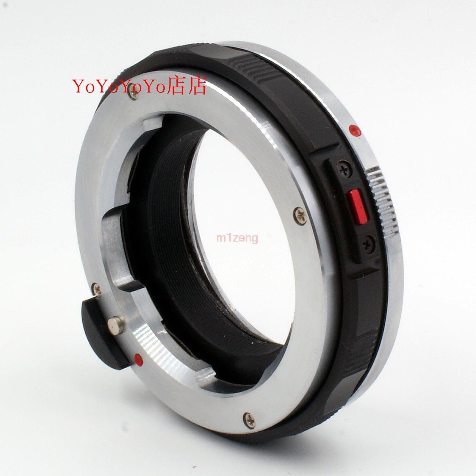 LM m objectif à NEX E monture adaptateur d'objectif bague Macro mise au point hélicoïdal pour NEX5/6/7 a7 a7r a7r2 a7s a9 a5000 a6300 a6500 caméra