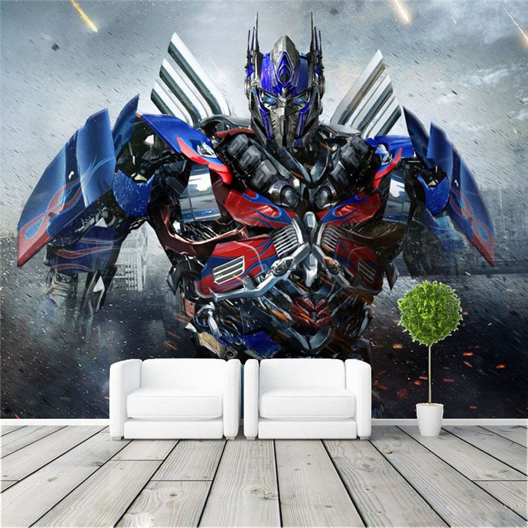 Optimus Prime Photo wallpaper 3D Transformers Photo wallpaper Large Wall Art  Mural Room decor Bedroom Kid room Home decoration