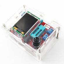 Многофункциональный тестер GM328 Транзистор тестер Диод емкость ESR метр ШИМ квадратная волна генератор сигналов с чехлом