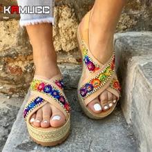 Sandals Women Wedges Shoes Pumps High Heels Sandals