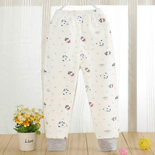 Children in the fall and winter long Johns Pure cotton a single boy girl warm trousers baby tiger cotton panties patricia johns the rancher s city girl