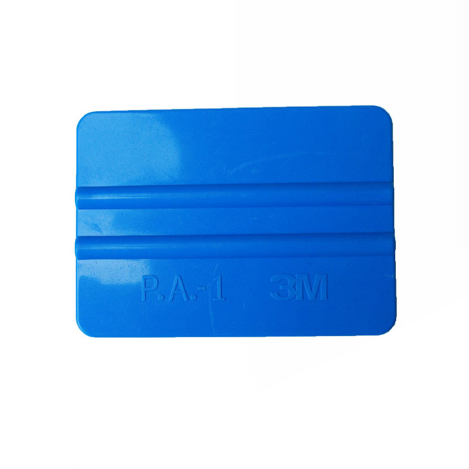 Image 2 - Good Quality Car Tint Tool 10*7.5cm Bump Cards Blue 3 M Hand Applicator Squeegee For Car Wrapping PA 1-in Car Stickers from Automobiles & Motorcycles