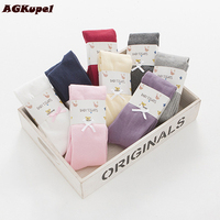 AGKupel Spring Autumn Girls Tights With Bow For Baby Girl Kids Cotton Pantyhose Soft Waist Solid
