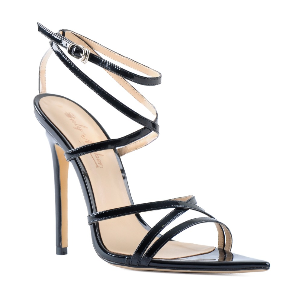 Ladies Womens High Heel Buckle Party Evening Fashion Peep Toe Sandal Shoes Size