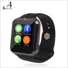 Bluetooth Herzfrequenz Smart Uhr C88 Sync Notifier Unterstützung SIM TF Karte Mehrsprachig SmartWatch Für IPhone IOS Android Smartphoe
