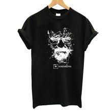 Breaking Bad Female 100% Cotton TShirt 2017 Summer Women's Funny T Shirt Women Harajuku Brand Women Tops Hip Hop