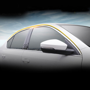 Image 2 - Vtear For Skoda Octavia A7 window trim cover MK3 Exterior Chromium Styling car styling decoration accessories parts 2017 2018