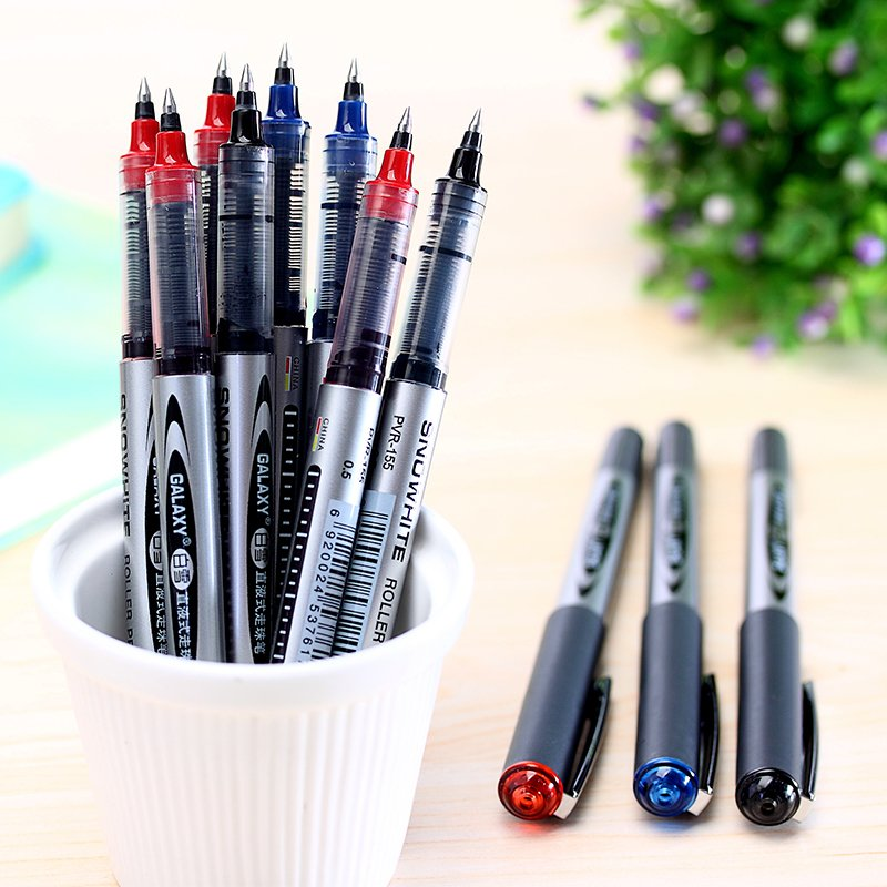5 Pcs/lot New Roll Pen Direct Liquid Pen Business High Special Gel Pen Examination Pen