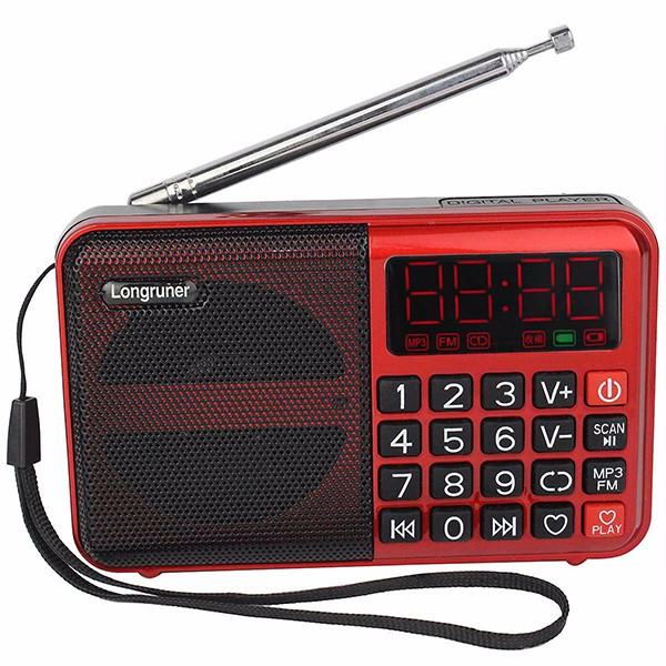 Hot Sale Digital FM Radio Receiver eith MP3 Player  (3)