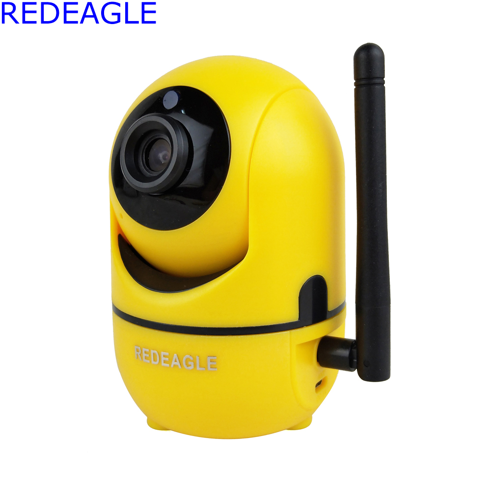 REDEAGLE Wireless IP Wifi 720P Hd CCTV Camera P2P Home Security Surveillance Cameras Two-Way Audio Baby Monitor Support SD Card hot 720p hd clever dog network wireless mini ip camera security video surveillance wifi baby monitor two way audio support card