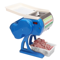 Stainless Steel Meat Slicer Machine Commercial Electric Meat Grinder Automatic Household Cooking Tools