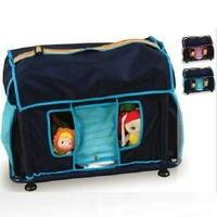 Высокое качество Детские Уход коляски Синий Розовый Переносной Свет Baby Nurse wheelless корзину утвердить sgs Тесты для Новорожденные ухода мешок