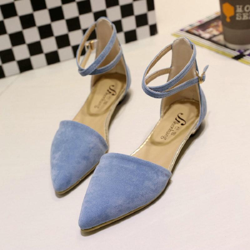 043ecbdf negro Para Femenino El Negro Cielo 2017 Cómodo Zapatos Concise azul Tacones  Zapato Nueva Elegante Beige Plana Trabajo Flats Mujeres ...