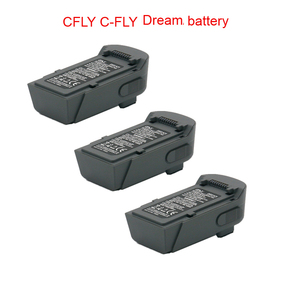 11.4V 1000mAh original dream battery CFLY C-FLY dream Foldable RC Quadcopter spare parts battery or for jjrc x9 drone